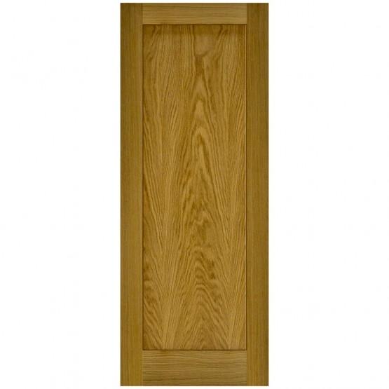 Doras Contract 1P Oak Shaker Door