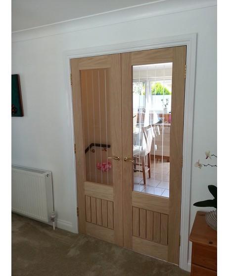 Deanta HP22G Oak Door