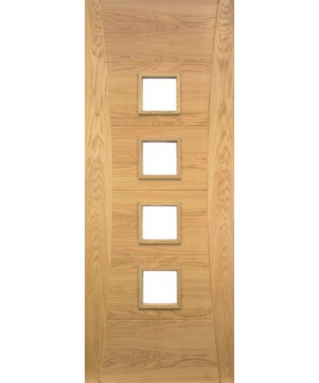 Deanta HP18G Oak Door Unglazed