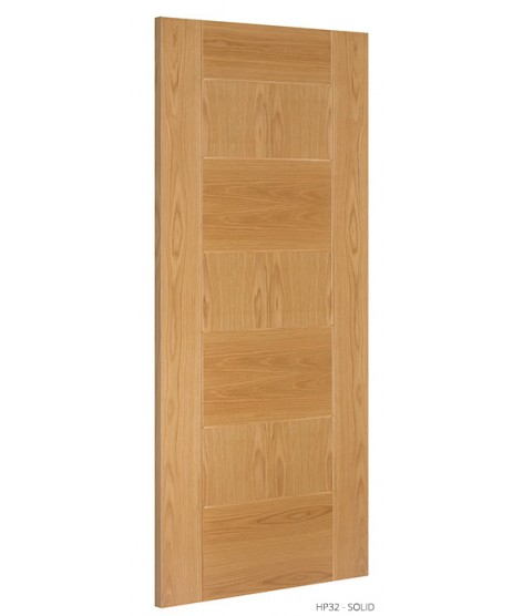 Deanta HP32 Oak Fire Door FD30 as Standard