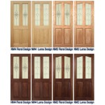 Deanta Oak Glazed Doors