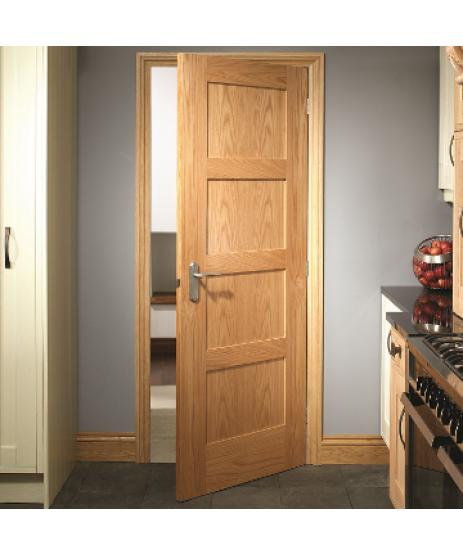 Deanta HP1 Oak Door