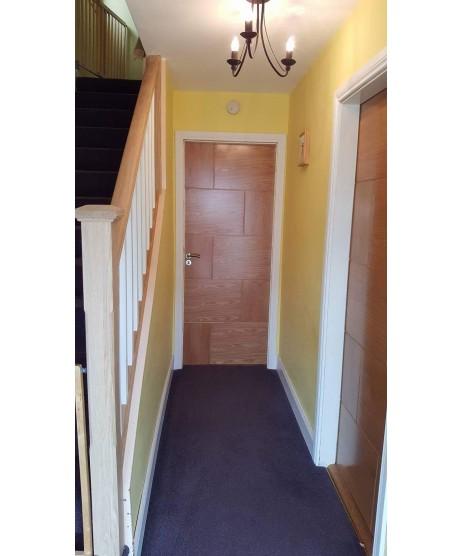Deanta HP34 Oak Door