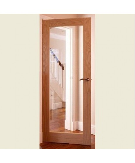 Deanta NM6G Oak Shaker Clear Glass