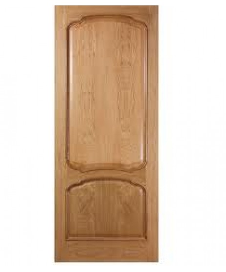 Deanta VR12 Oak Door, 2 Panel Bolection