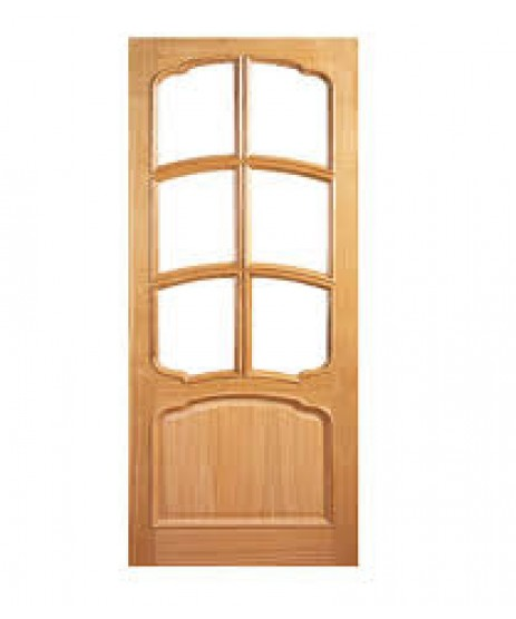 Deanta VR12G Oak Door, 7 Panel Bolection