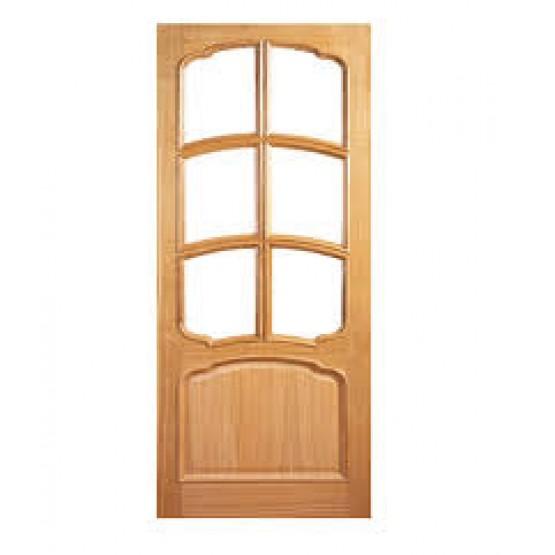 Deanta VR12G Oak Door, 7 Panel Bolection
