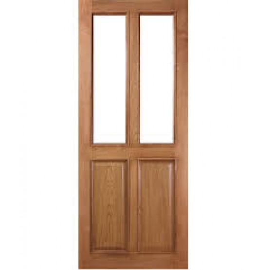 Deanta VR4G Oak Door, unglazed
