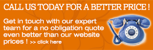 Call us today for a better price