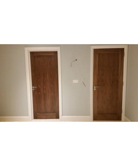 Deanta NM5 Walnut Shaker Door