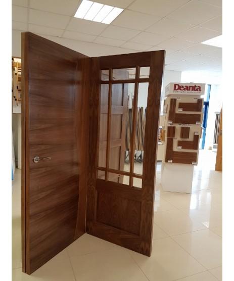Deanta NM9G Walnut Door