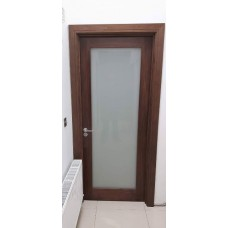 Seadec Cheshire Shaker Walnut Frosted Glass