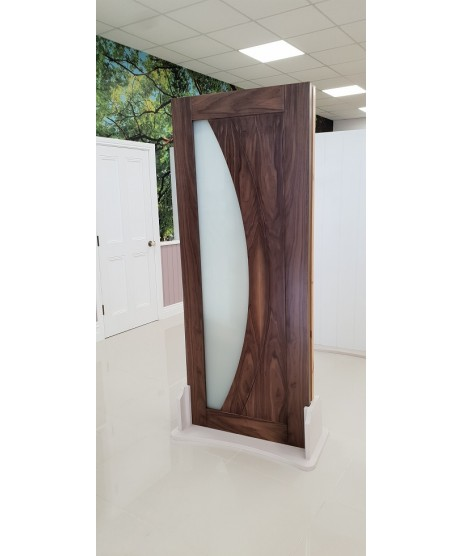 Deanta HP35G Walnut Frosted Door
