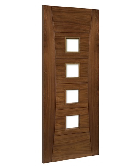 Deanta HP18G Walnut Door Unglazed