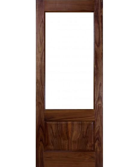 Deanta NM3G Walnut Door, Unglazed