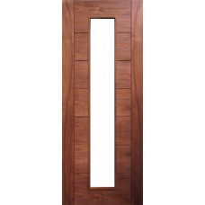 Deanta HP16G Walnut Door (Unglazed)