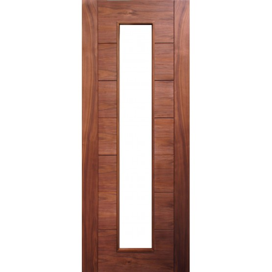 Deanta HP16G Walnut Door (Unglazed)