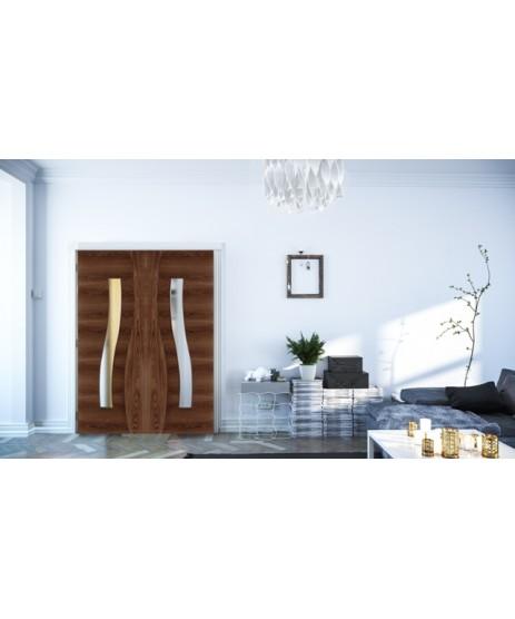 Deanta HP24G Walnut Door