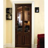 Deanta VR20G Walnut Door, Unglazed