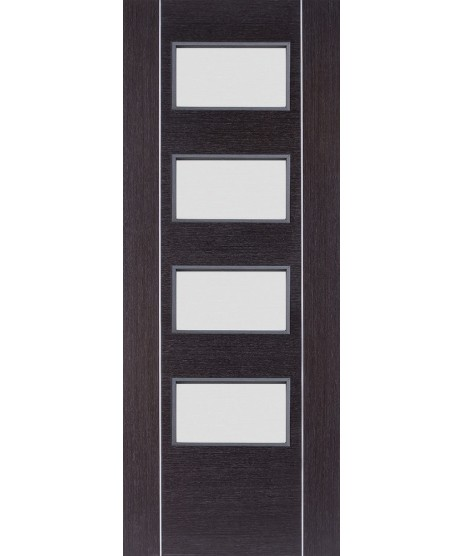 Deanta HP30G Dark Grey Ash Glass Door