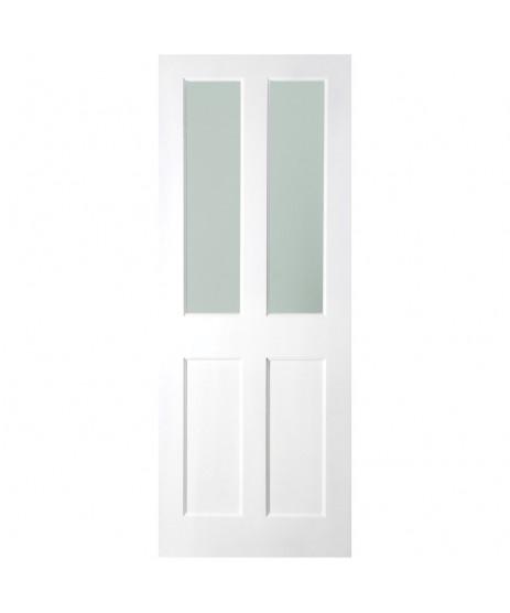 Waterford White Primed 2 Panel Door (Unglazed)