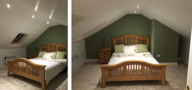 after attic conversion
