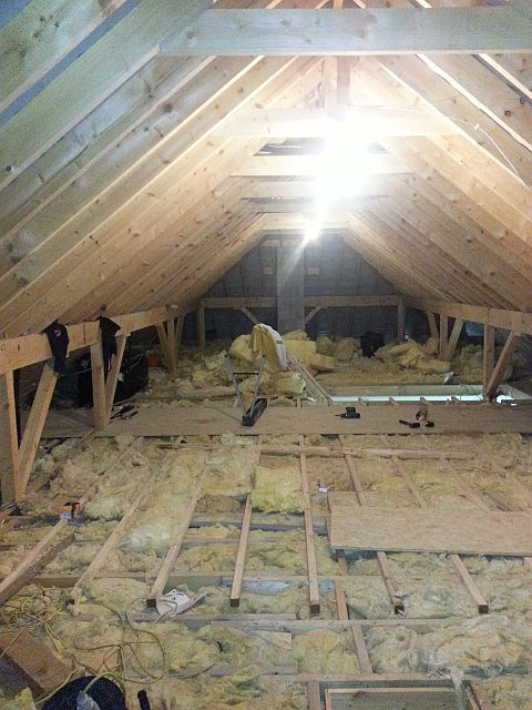 before attic conversion