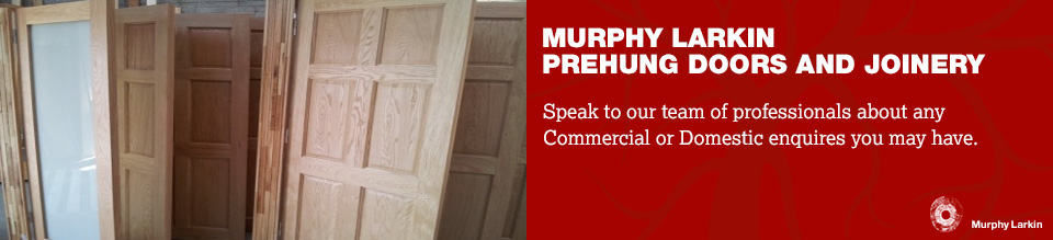 Prehung Doors & Joinery