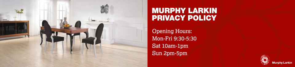 Privacy Policy - Murphy Larkin