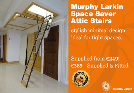 Murphy Larkin Space Saver Attic Stairs