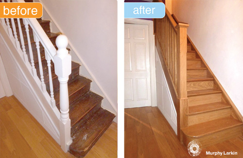 Murphy Larkin - Stairs  Refurb System