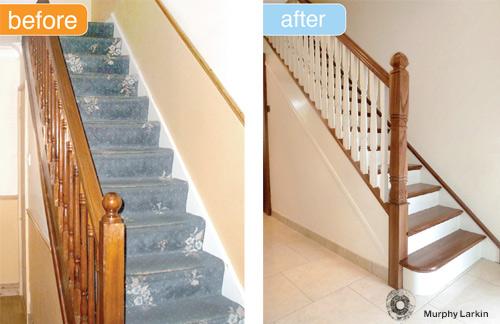 Murphy Larkin - Stairs Refurb