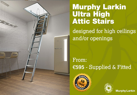 Murphy Larkin Ultra High Stairs
